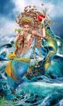 Queen of Cups   TAROT APOKALYPSIS