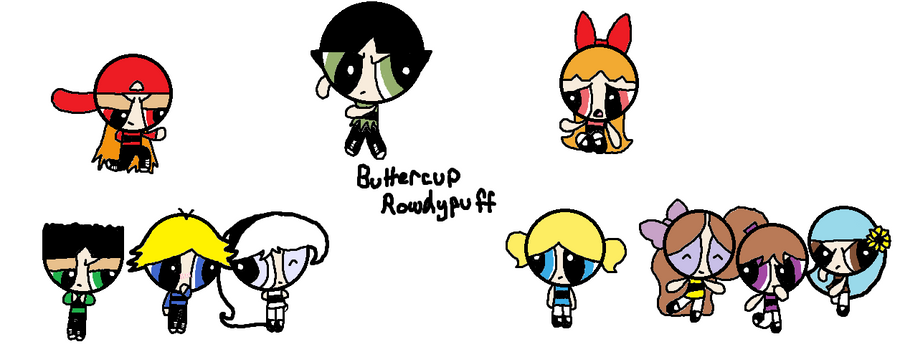 Buttercup Rowdypuff Cover By Ppg Green Team312 On Deviantart