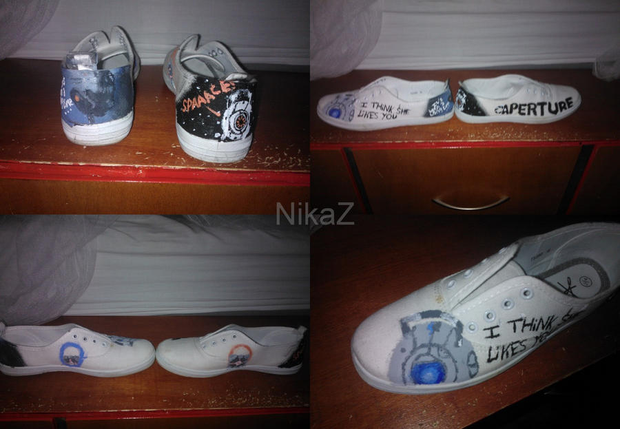 Portal Shoes by NikaZ