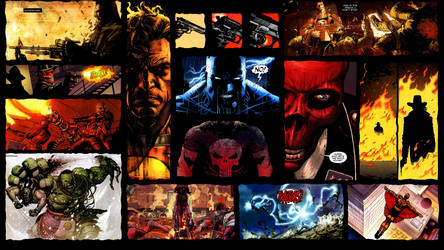 Comic Book Rage by xDroid