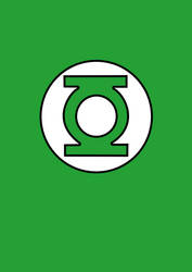 Green Lantern poster by xDroid