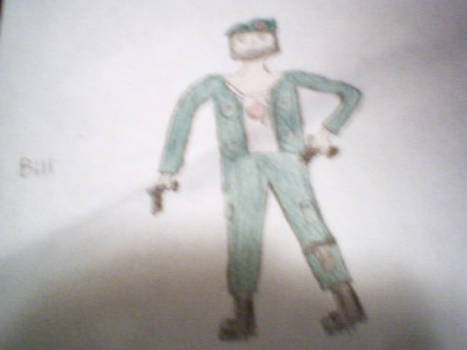 Bill from Left 4 dead Colored