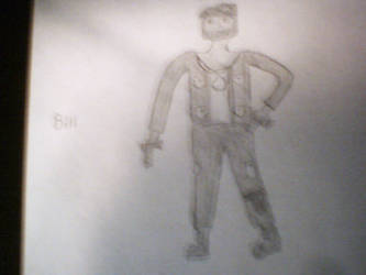 Bill from Left 4 Dead BaW by deathonice123