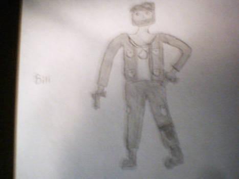 Bill from Left 4 Dead BaW
