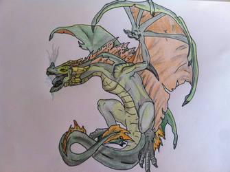 Wyvern Dragon by Gorgeoustron