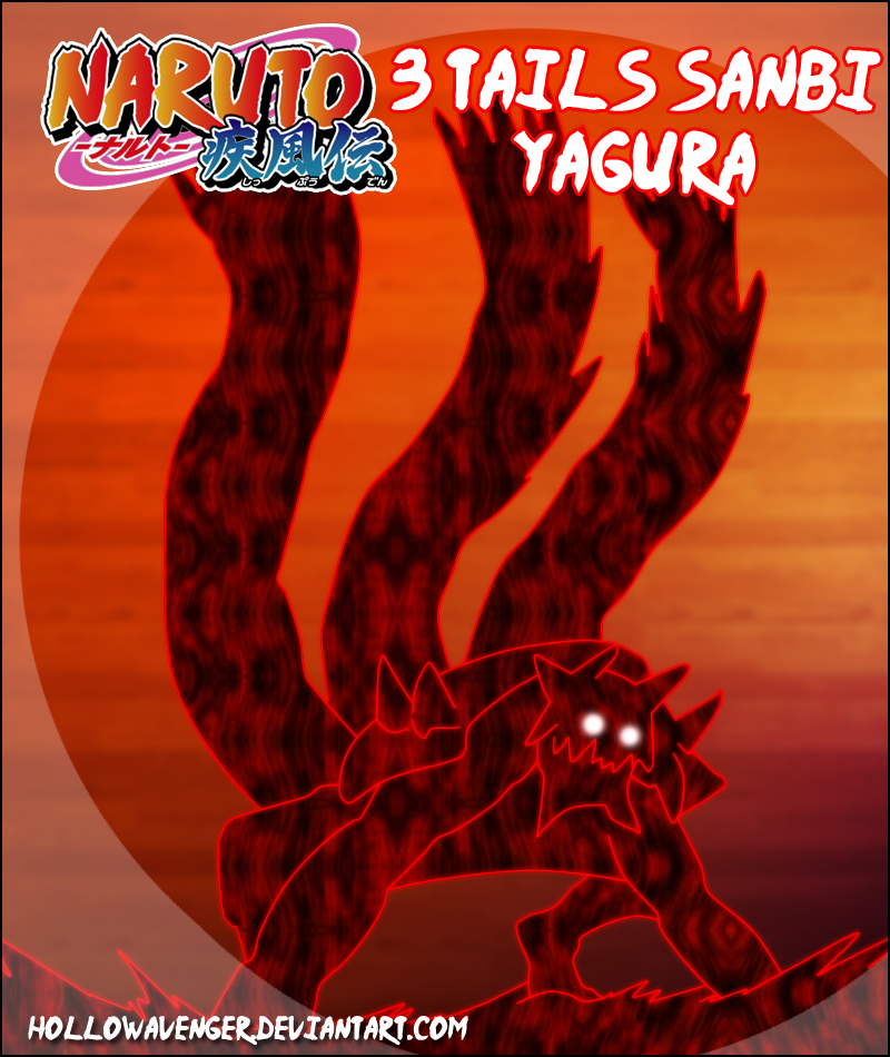 Yagura Sanbi Mode 2 by HollowAvenger on DeviantArt