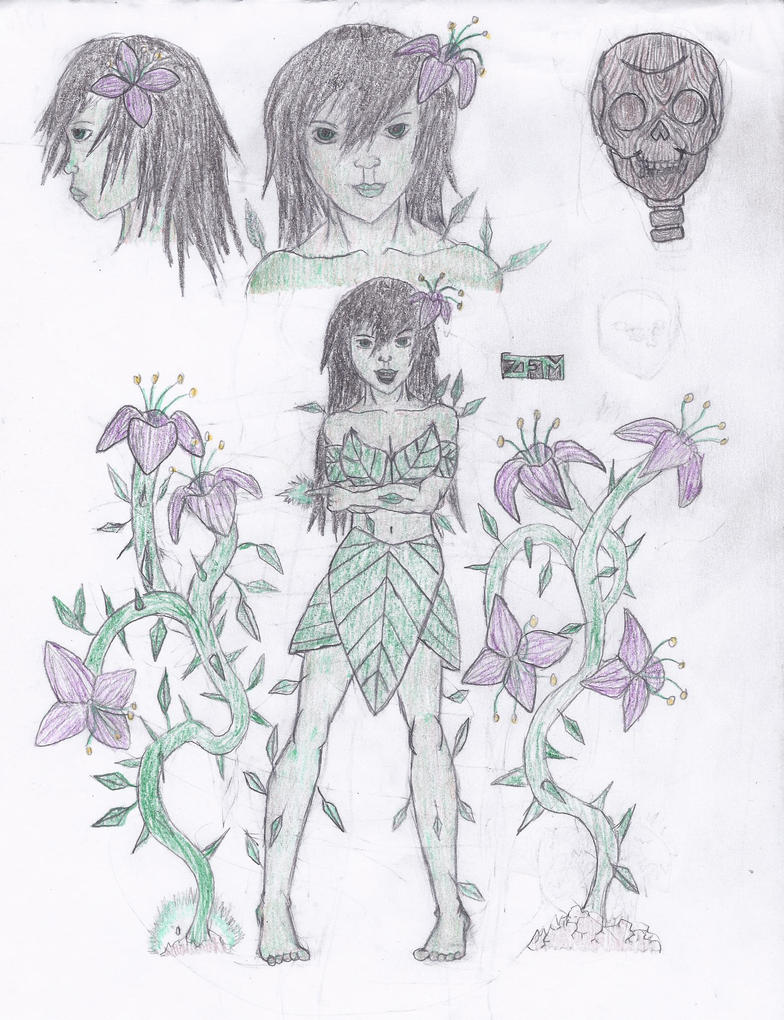 Flora Quicksketches by Sigfriedofgaea