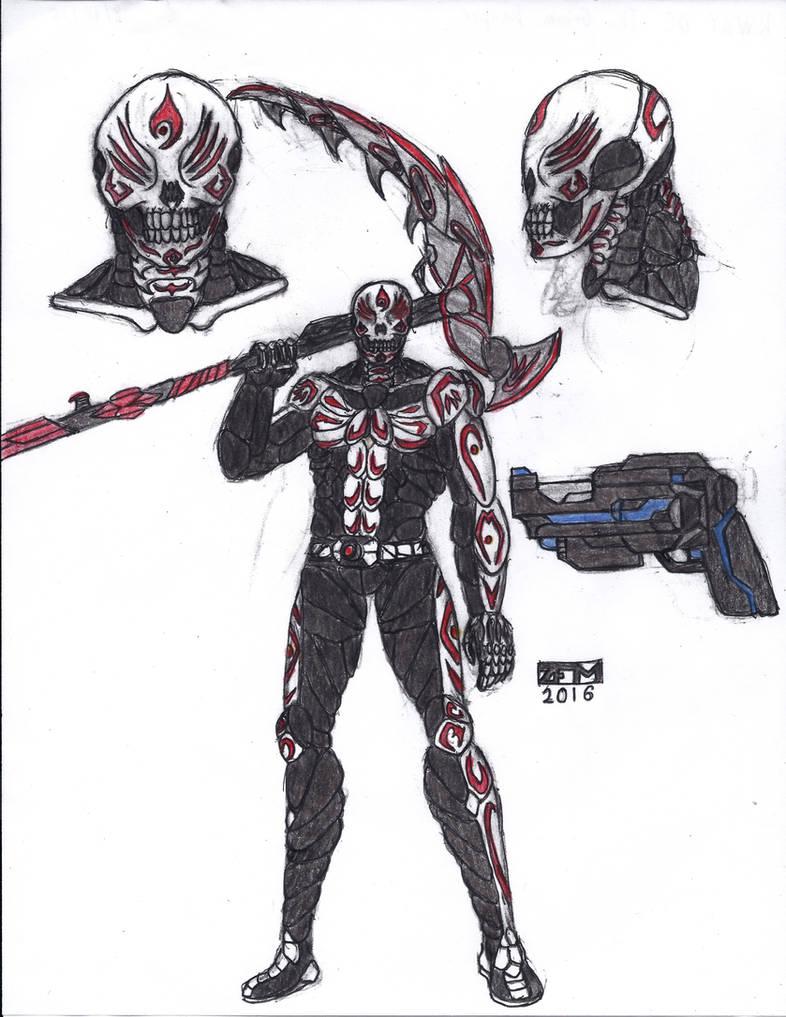 RWBY OC - The Grimm Reaper