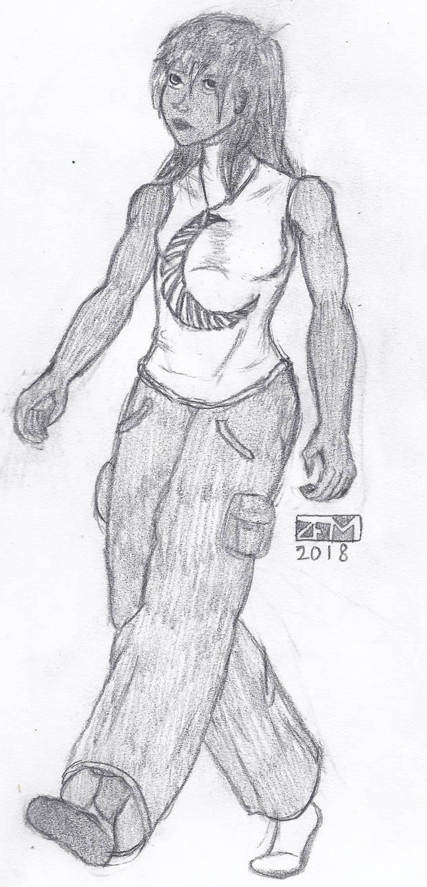 Ciana DiAmant - Timeskip Outfit
