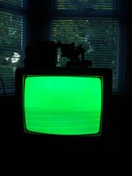 TV Dead Hour by shardyhaha