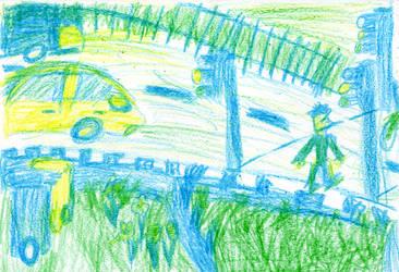 Crayon Road journey by shardyhaha