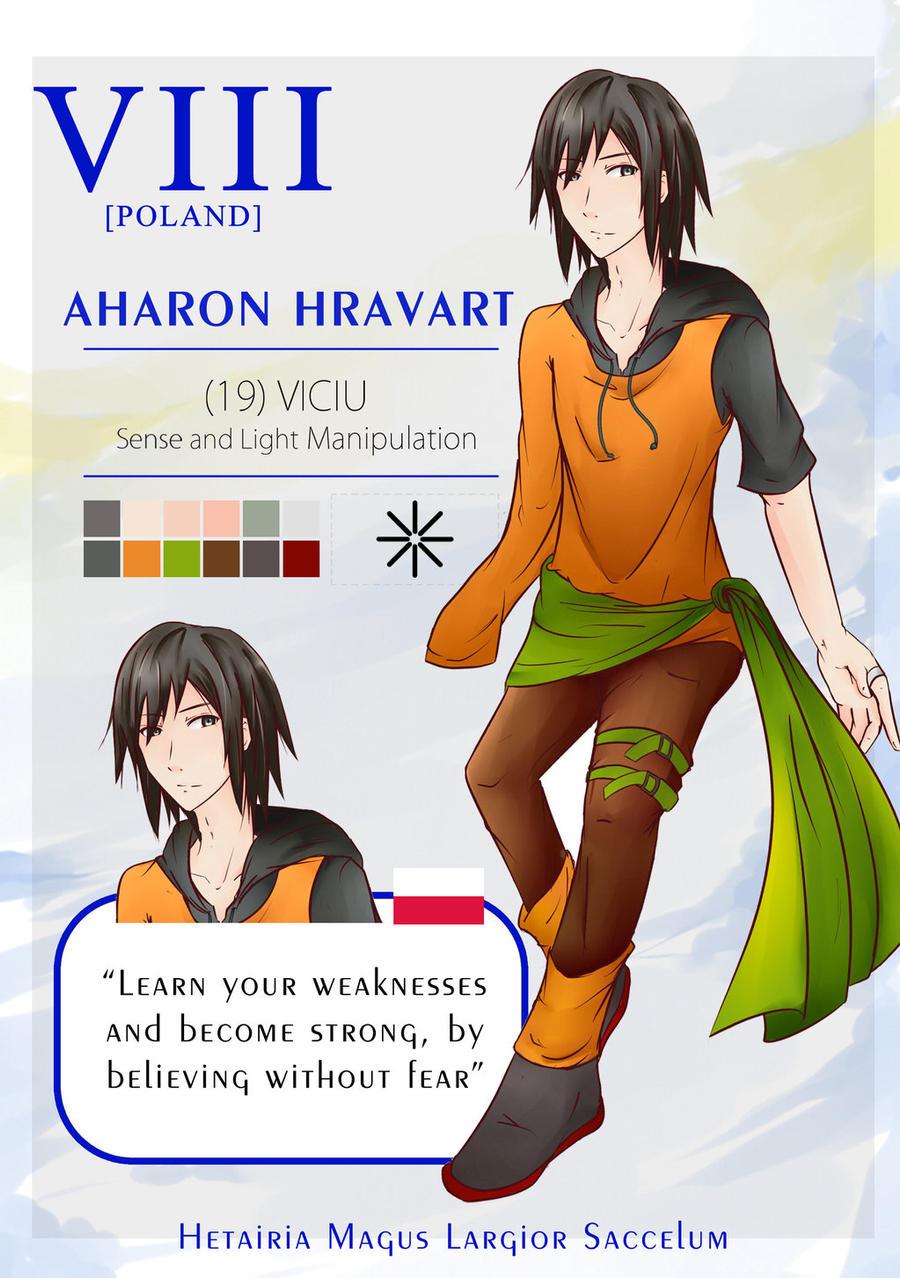 HMLS: Aharon Hravart by YuuichiSaitou