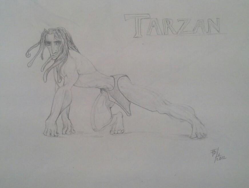 Tarzan by Zimriver