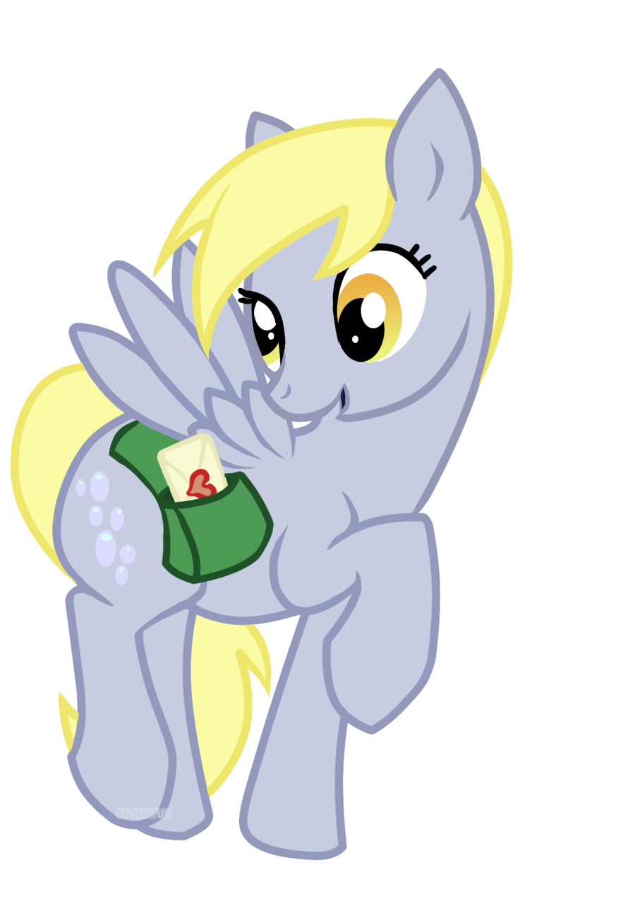 Derpy delivers some love
