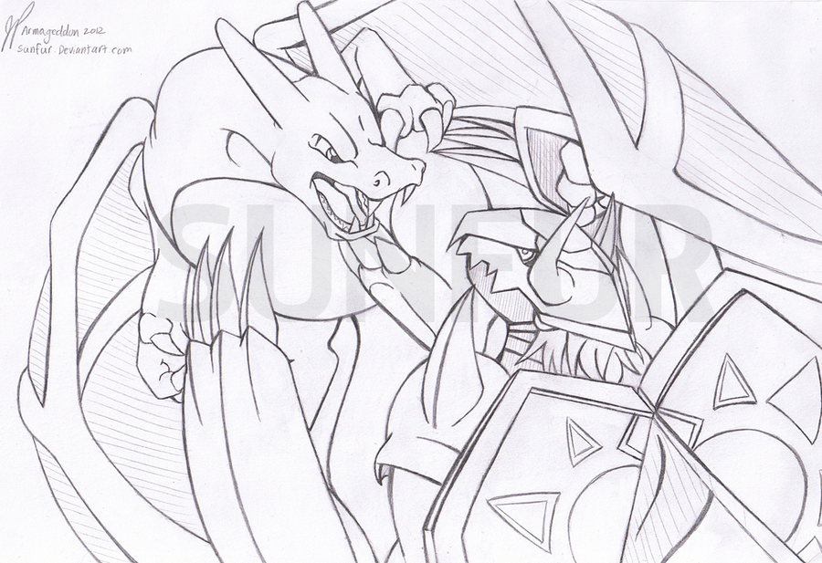 Charizard VS Wargreymon by Sunfur on DeviantArt