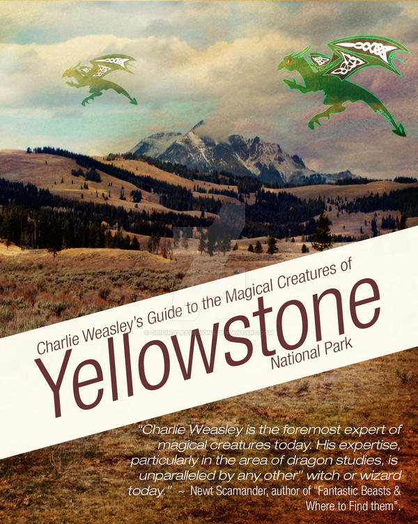 Dragons of Yellowstone: A nature guide by OriginaLeaDesigns