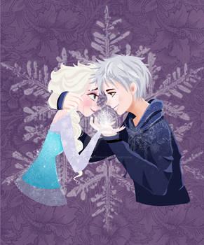 Let's frost the world together! (Elsa and Jack)