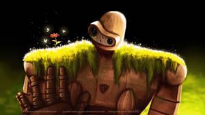 Laputa Robot by Panda-neko-pyon