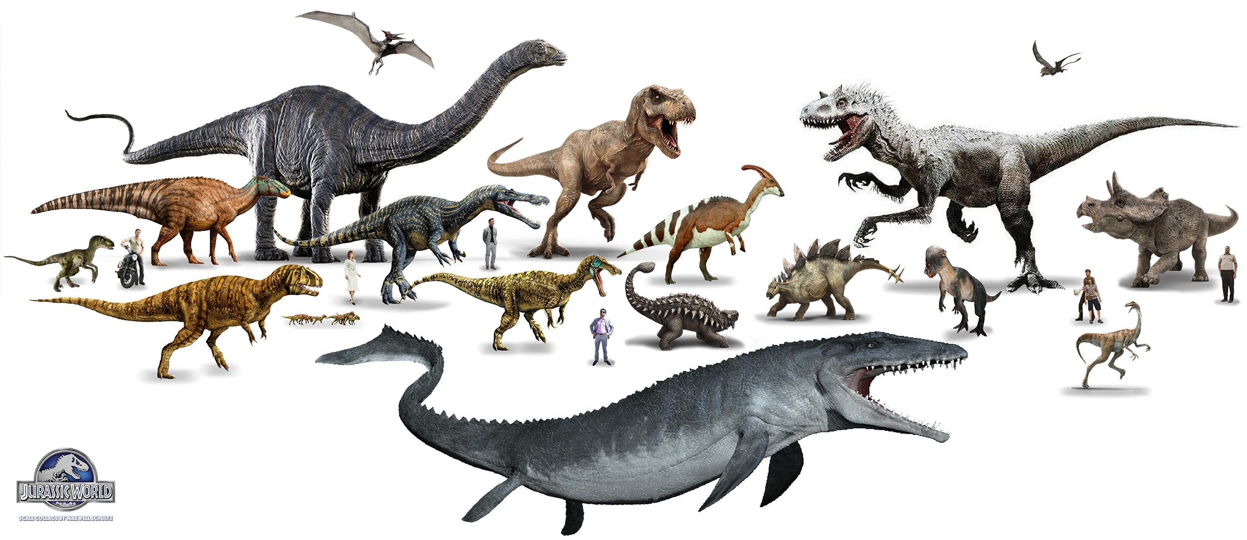 Jurassic world by urbnvampslayer on deviantart - Liste dinosaures ...