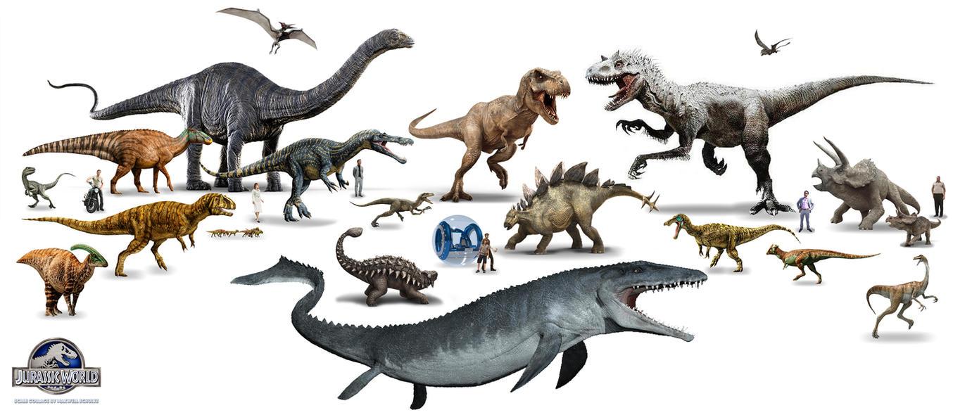 Jurassic World Creatures By Urbnvampslayer On DeviantArt