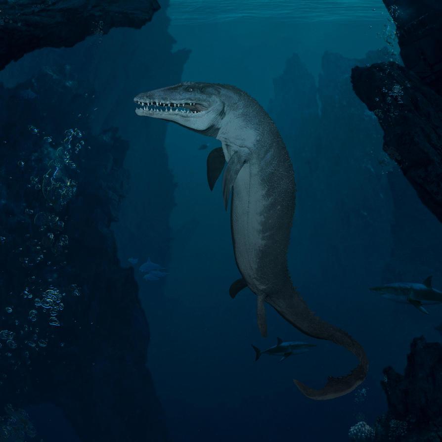 Mosasaurus of Jurassic World by urbnvampslayer on DeviantArt