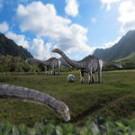 Apatosaurus of Jurassic World