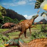 Edmontosaurus of Jurassic World