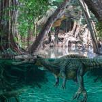 Suchomimus of Jurassic World