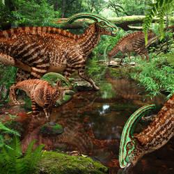 Parasaurolophus of Jurassic World by urbnvampslayer