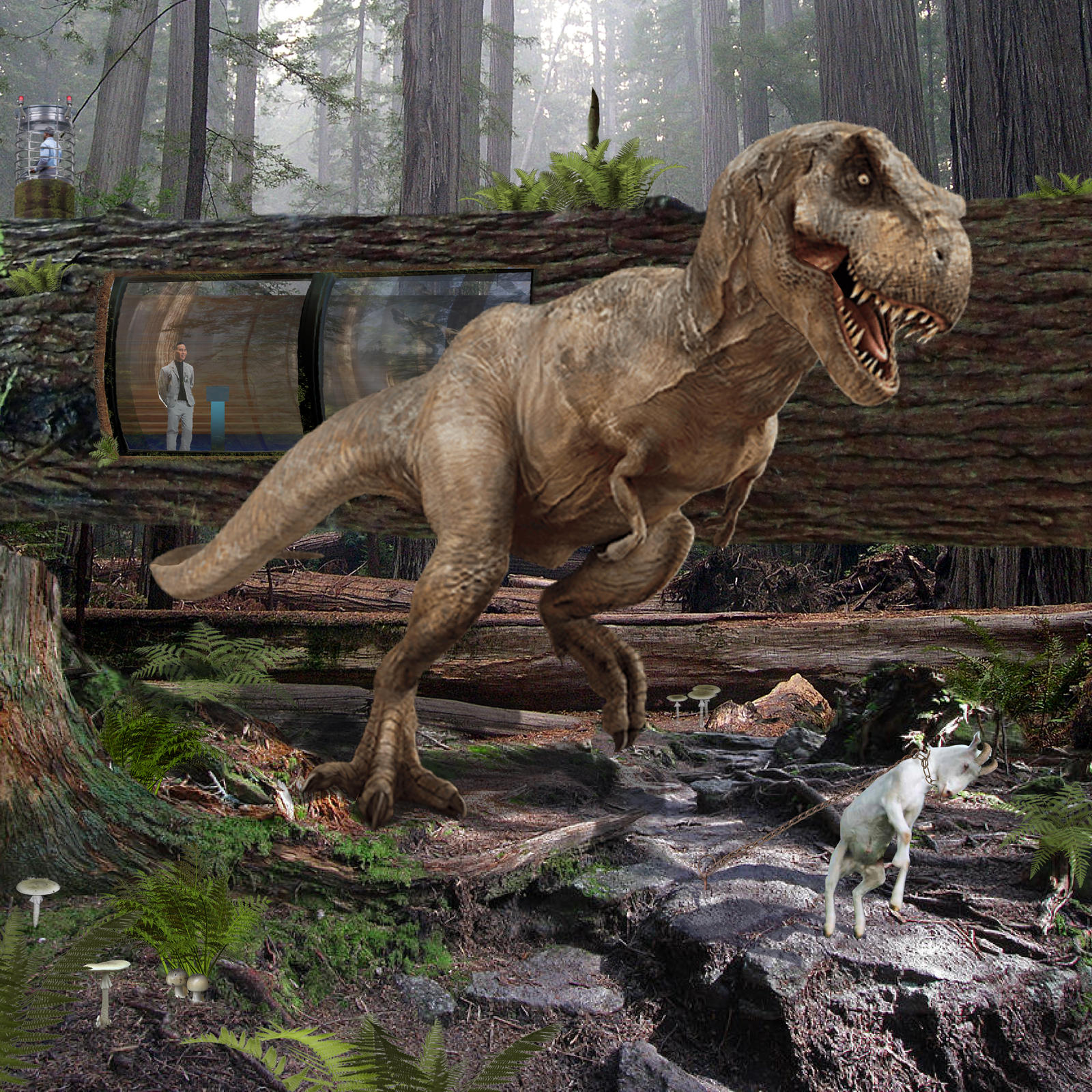 Tyrannosaurus Rex of Jurassic World by urbnvampslayer on ... - photo#38