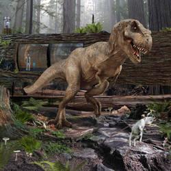 Tyrannosaurus Rex of Jurassic World by urbnvampslayer