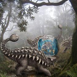 Ankylosaurus of Jurassic World by urbnvampslayer