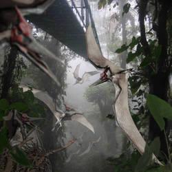 Pteranodon of Jurassic World by urbnvampslayer
