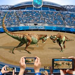 Pachycephalosaurus of Jurassic World by urbnvampslayer