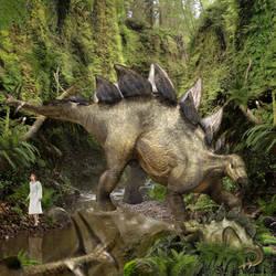 Stegosaurus of Jurassic World by urbnvampslayer