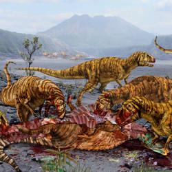 Metriacanthosaurus of Jurassic World by urbnvampslayer