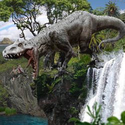 Indominus Rex of Jurassic World by urbnvampslayer