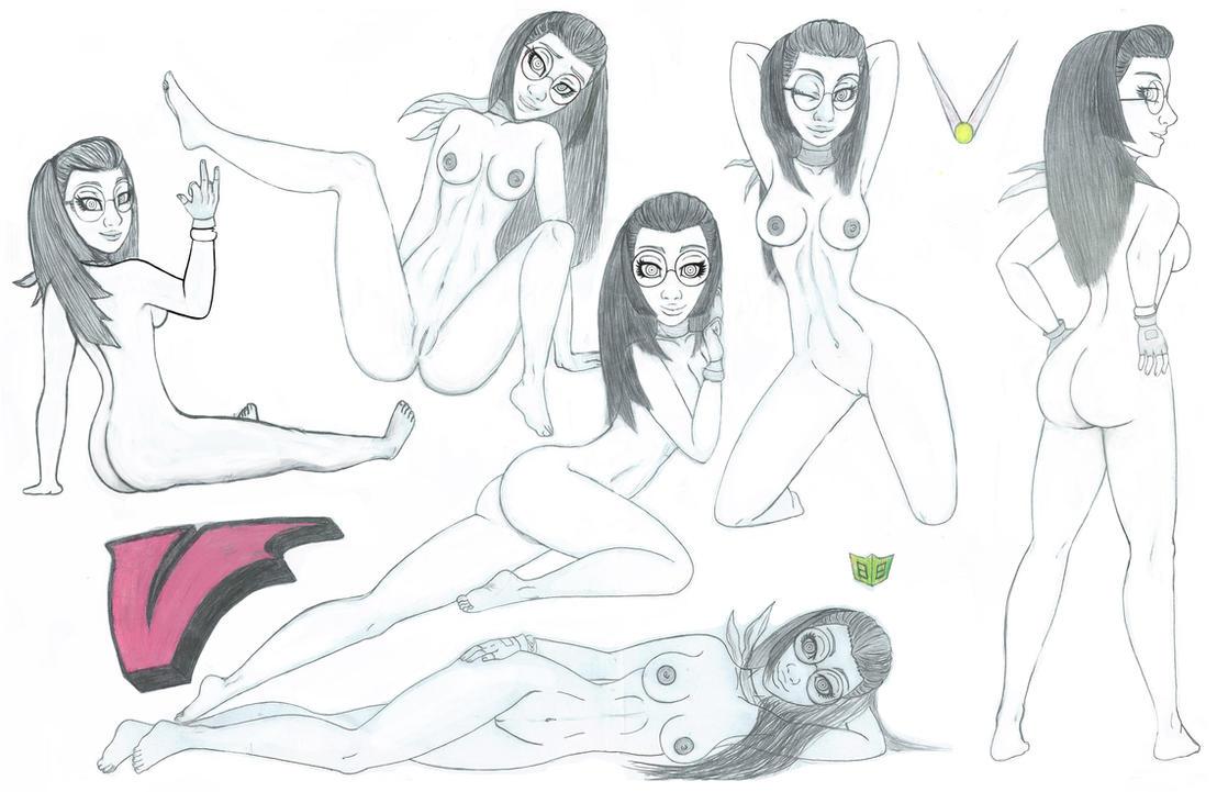 Viewtiful Joe - Sexy Sylvia by gamemasterNPX
