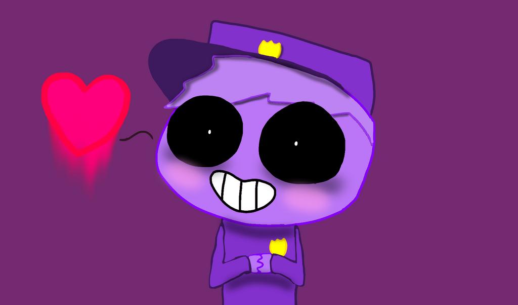 Purple Guy By Poppyseed799 On DeviantArt