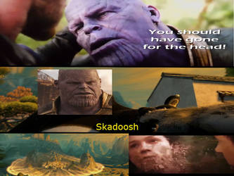 Thanos didn't snap (SPOILERS) by Meme-mp4