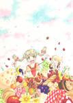 Spring Picnic by Suzu-SUZUNOMIYA