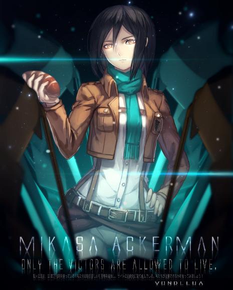 My Art Gallery Mikasa_ackerman_by_vondelua-d881hxg