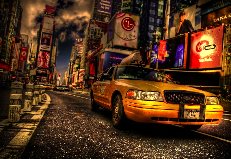 Taxi Newyork HDR