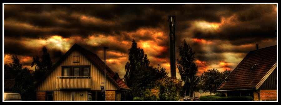 Hell is breaking Loose HDR by TonistL
