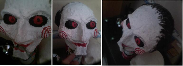 Saw Puppet:Billy's Head by Debreks