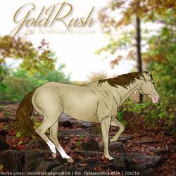 GoldRush - HEE Art by Kayleighxx97