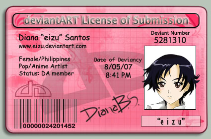 eizu's cute and cudly DA I.D. by eizu