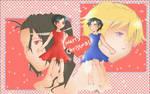 blood + Mewie Kurisumasu ne-