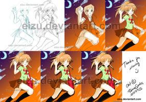 School Girl process by eizu