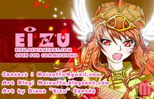 Business card + Kiriban info by eizu